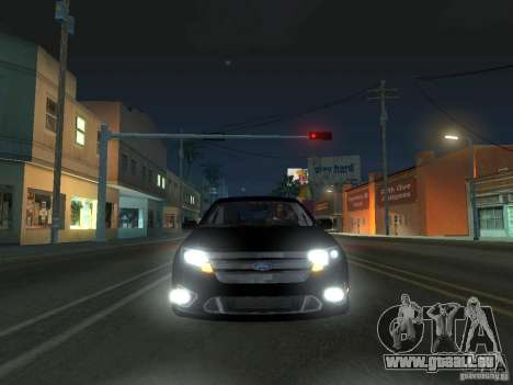 Ford Fusion pour GTA San Andreas laissé vue