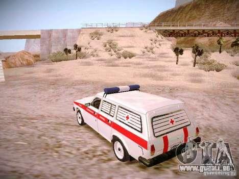 GAZ 310231 Urgent pour GTA San Andreas laissé vue