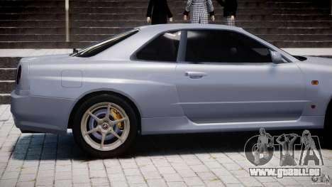 Nissan Skyline GT-R 34 V-Spec pour GTA 4