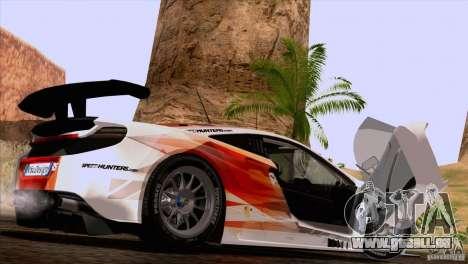 McLaren MP4-12C Speedhunters Edition pour GTA San Andreas vue de droite