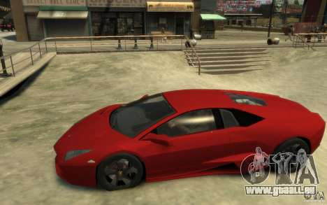 Lamborghini Reventon Coupe pour GTA 4 est une gauche