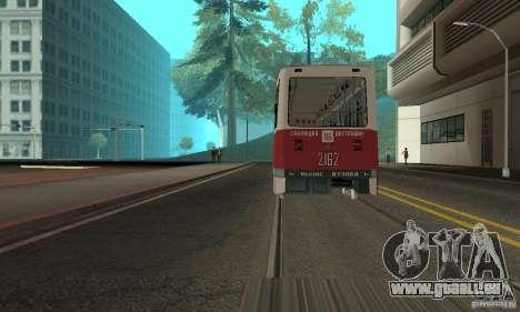KTM5-2162 für GTA San Andreas linke Ansicht
