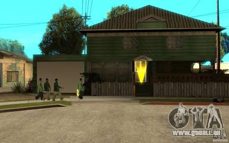 Ist russische Hata CJ für GTA San Andreas fünften Screenshot