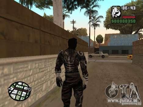 Sandwraith from Prince of Persia 2 pour GTA San Andreas deuxième écran