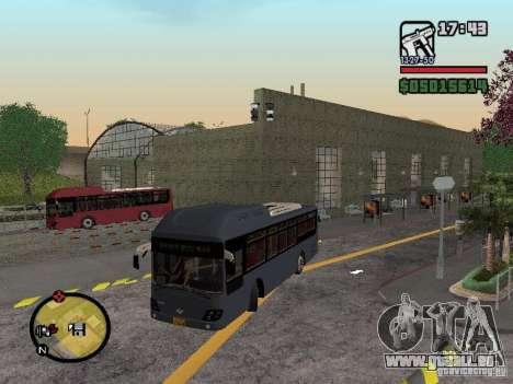 Daewoo BS110CN für GTA San Andreas