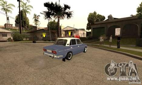 VAZ 2106 alten v2. 0 für GTA San Andreas Innen