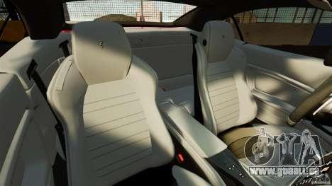 Ferrari California Novitec pour GTA 4 est une vue de l'intérieur
