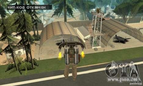 New CJs Airport pour GTA San Andreas onzième écran