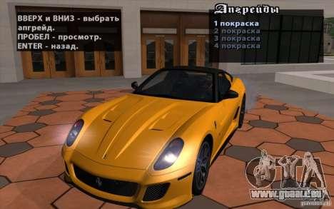 Mobile TransFender für GTA San Andreas zweiten Screenshot
