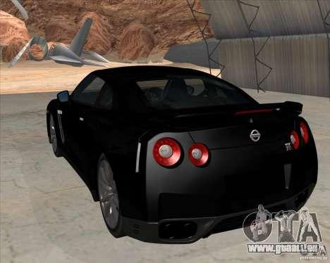 Nissan GT-R R35 für GTA San Andreas linke Ansicht