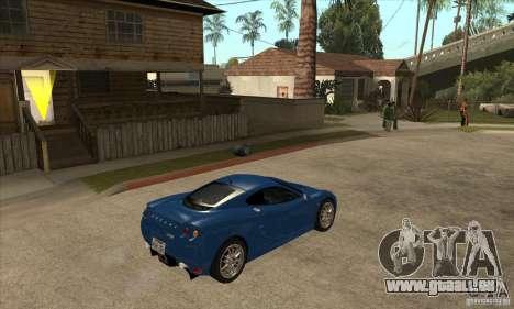 Ascari KZ1 für GTA San Andreas rechten Ansicht