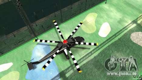 Liberty Sky-lift für GTA 4 Rückansicht