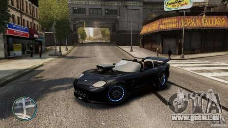 Blue Neon Banshee für GTA 4