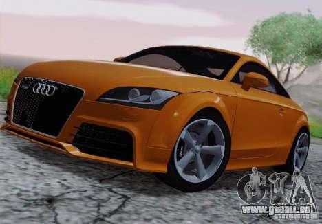 Audi TT-RS Coupe pour GTA San Andreas vue arrière
