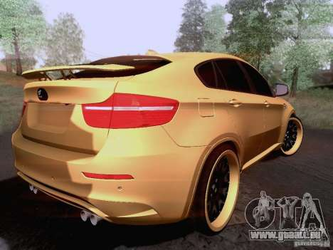 BMW X6M Hamann für GTA San Andreas rechten Ansicht