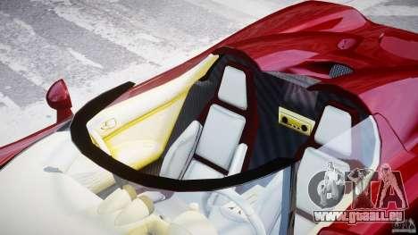 Koenigsegg CCRT pour GTA 4 vue de dessus