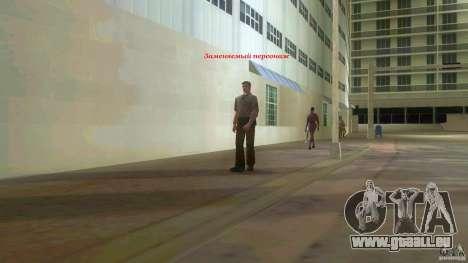Big Lady Cop Mod 2 GTA Vice City pour la troisième écran