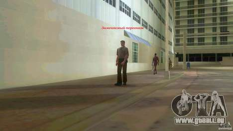 Big Lady Cop Mod 2 für GTA Vice City dritte Screenshot