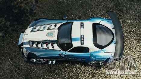 Dodge Viper SRT-10 ACR ELITE POLICE [ELS] für GTA 4 rechte Ansicht