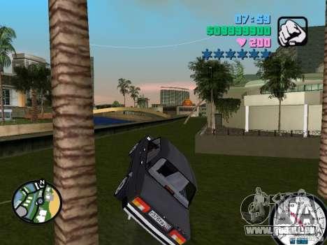 VAZ 2105 pour GTA Vice City vue arrière