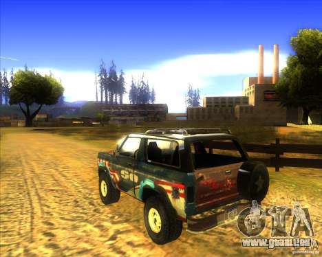 Blazer XL FlatOut2 für GTA San Andreas rechten Ansicht