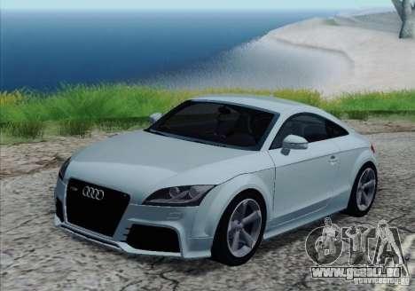 Audi TT-RS Coupe pour GTA San Andreas roue