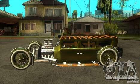HotRod sedan 1920s für GTA San Andreas linke Ansicht
