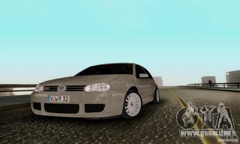 Volkswagen Golf 4 pour GTA San Andreas