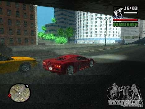 SSC Ultimate Aero pour GTA San Andreas vue de droite