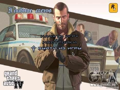 Menu comme dans GTA IV pour GTA San Andreas