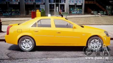 Cadillac CTS Taxi pour GTA 4 est une gauche