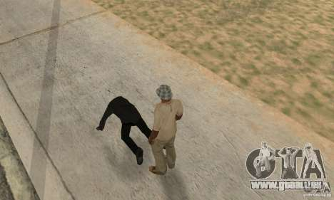 Collision de GTA 4 pour GTA San Andreas deuxième écran