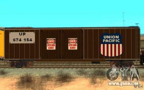 Union Pacific Reefer pour GTA San Andreas laissé vue