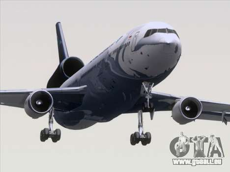 McDonnell Douglas MD-11 Garuda Indonesia für GTA San Andreas zurück linke Ansicht