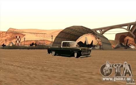 Chevrolet C-10 Fixxa pour GTA San Andreas vue arrière