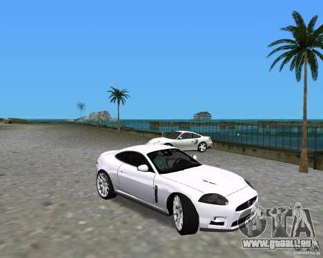 Jaguar XKR S pour GTA Vice City