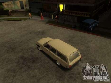 GAZ Volga 310221 Wagon pour GTA San Andreas sur la vue arrière gauche