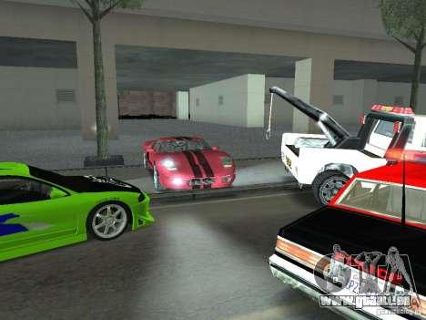 Bullet HQ für GTA San Andreas Seitenansicht