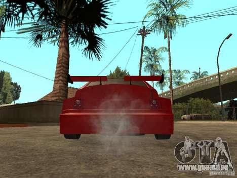 VAZ-2112 diable rouge pour GTA San Andreas sur la vue arrière gauche