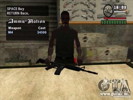 M4 pour GTA San Andreas