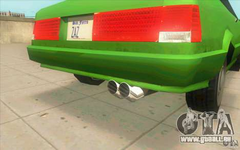 Mad Drivers New Tuning Parts für GTA San Andreas achten Screenshot