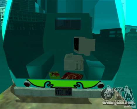 Mystery Machine pour GTA San Andreas vue arrière