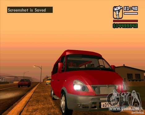 GAZ 22171 Sable pour GTA San Andreas