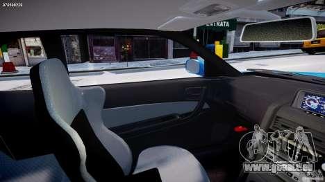 Nissan Skyline R-34 V-spec pour GTA 4 est une vue de l'intérieur