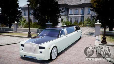Rolls Royce Phantom Sapphire Limousine Disco für GTA 4