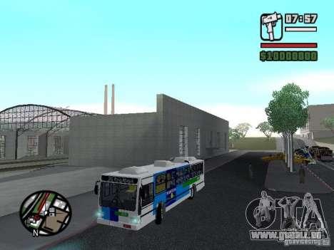 Cobrasma Monobloco Patrol II Trolerbus für GTA San Andreas Seitenansicht