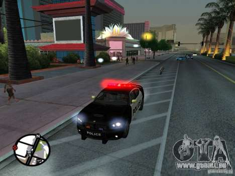 Dodge Charger Police für GTA San Andreas
