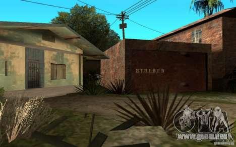 S.T.A.L.K.E.R House pour GTA San Andreas deuxième écran