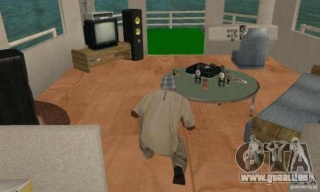 HAUS AUF DEM WASSER für GTA San Andreas Seitenansicht