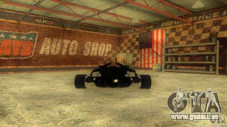 Lamborghini Concept pour GTA San Andreas vue intérieure